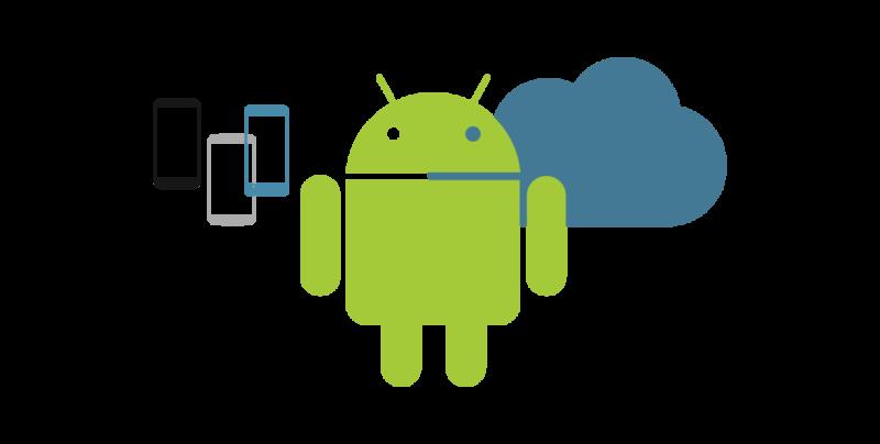 Android development visual. Clipart studio professional service