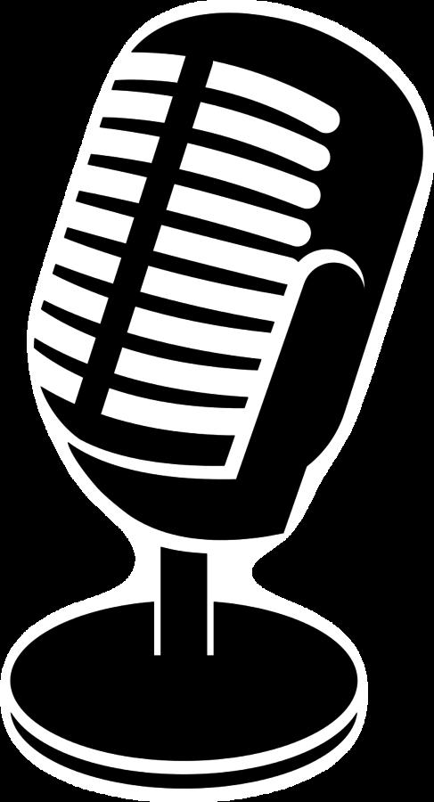 Clipart studio small microphone. Tech talk podcasting ryan