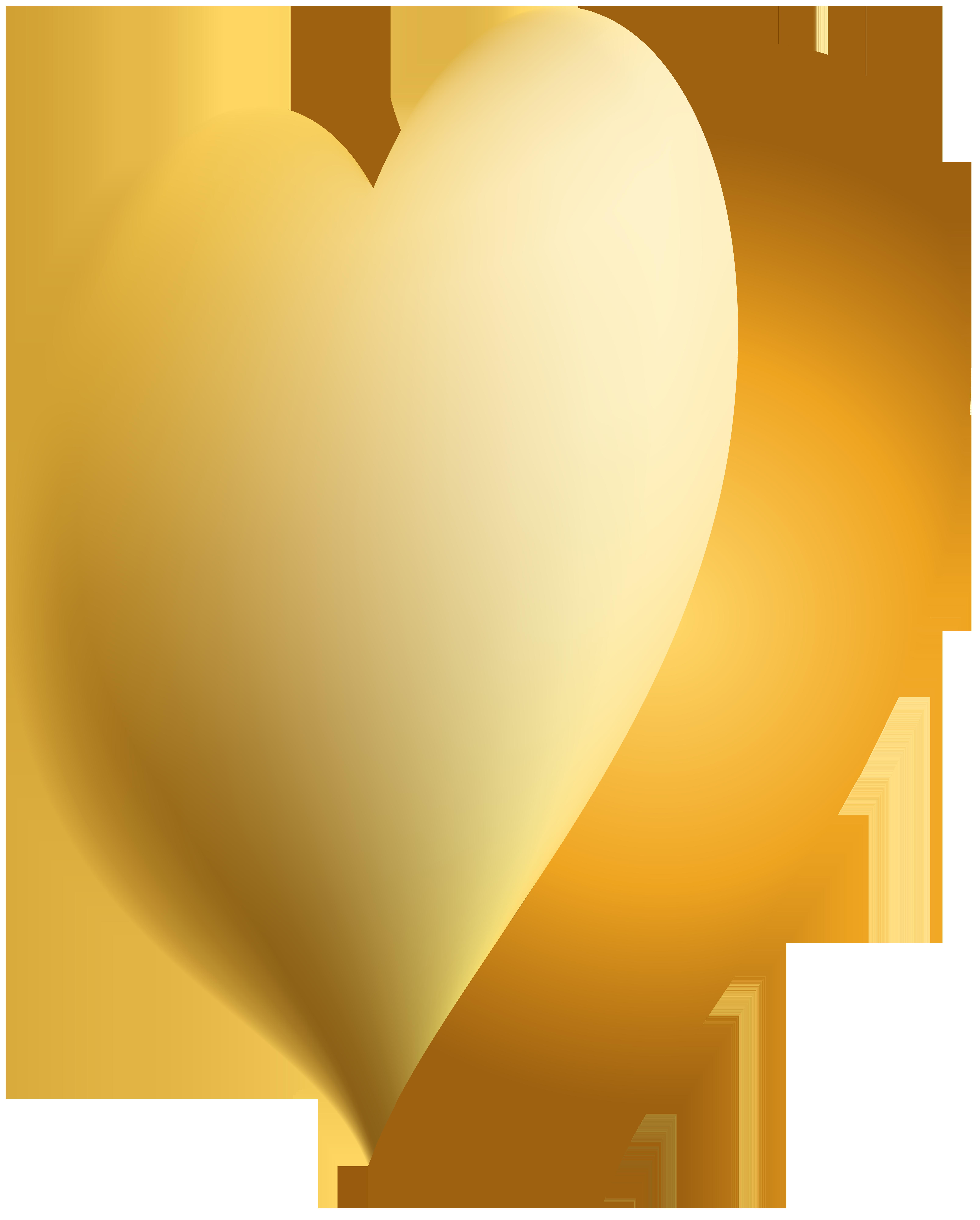 Clipart summer body. Gold heart transparent png