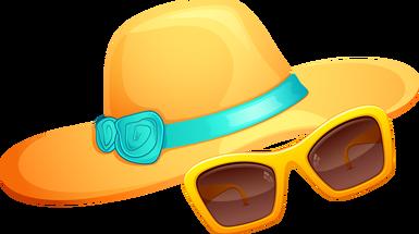 Clipart summer cap. Web design development scrapbook