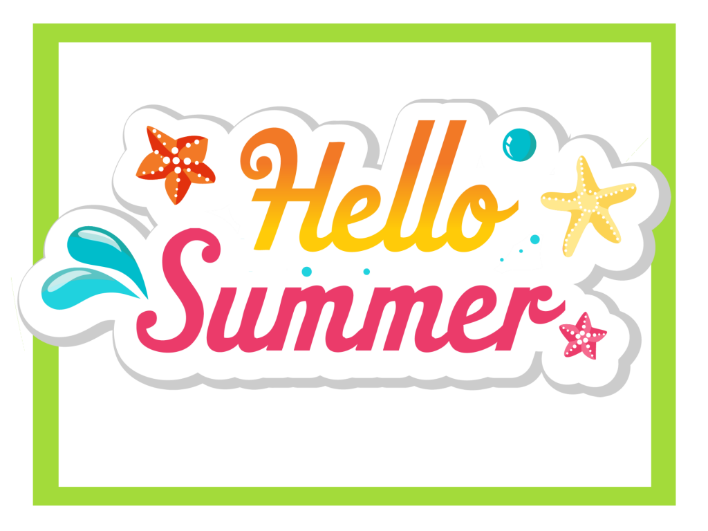 Clipart summer celebration. School s out party