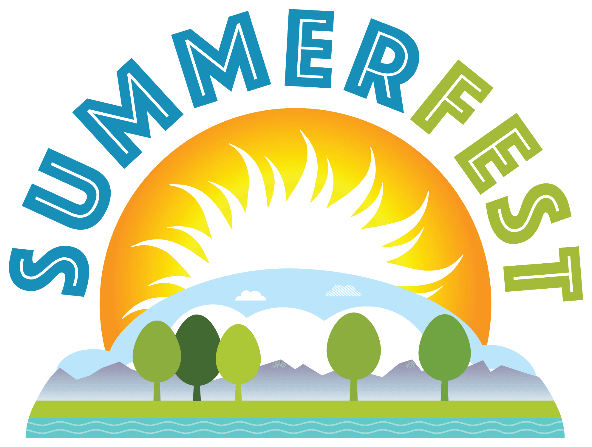 Garden clipart family. Summerfest brighton colorado summerfestlogotransparent