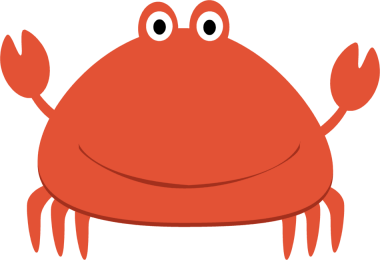 crabs clipart summer