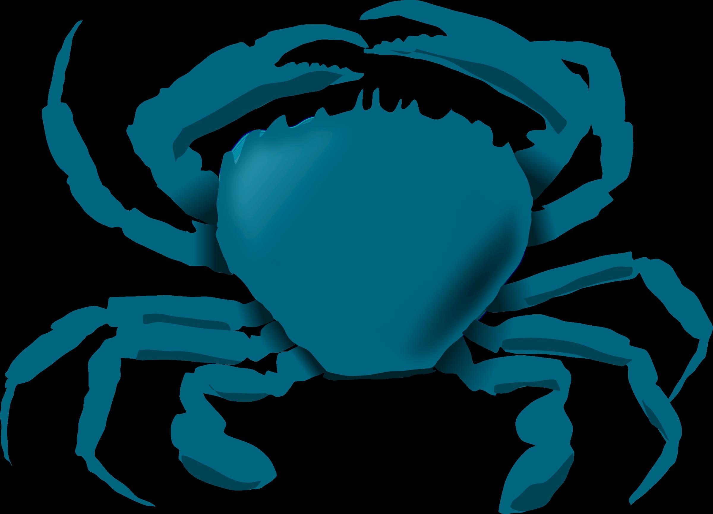 Blue big image png. Crab clipart red crab