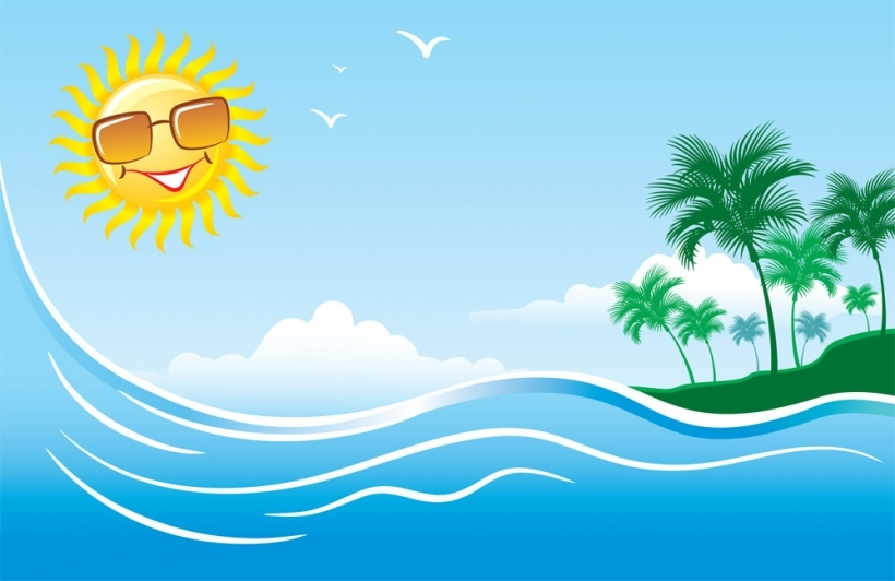 Hot clipart summer season. Day clip art free
