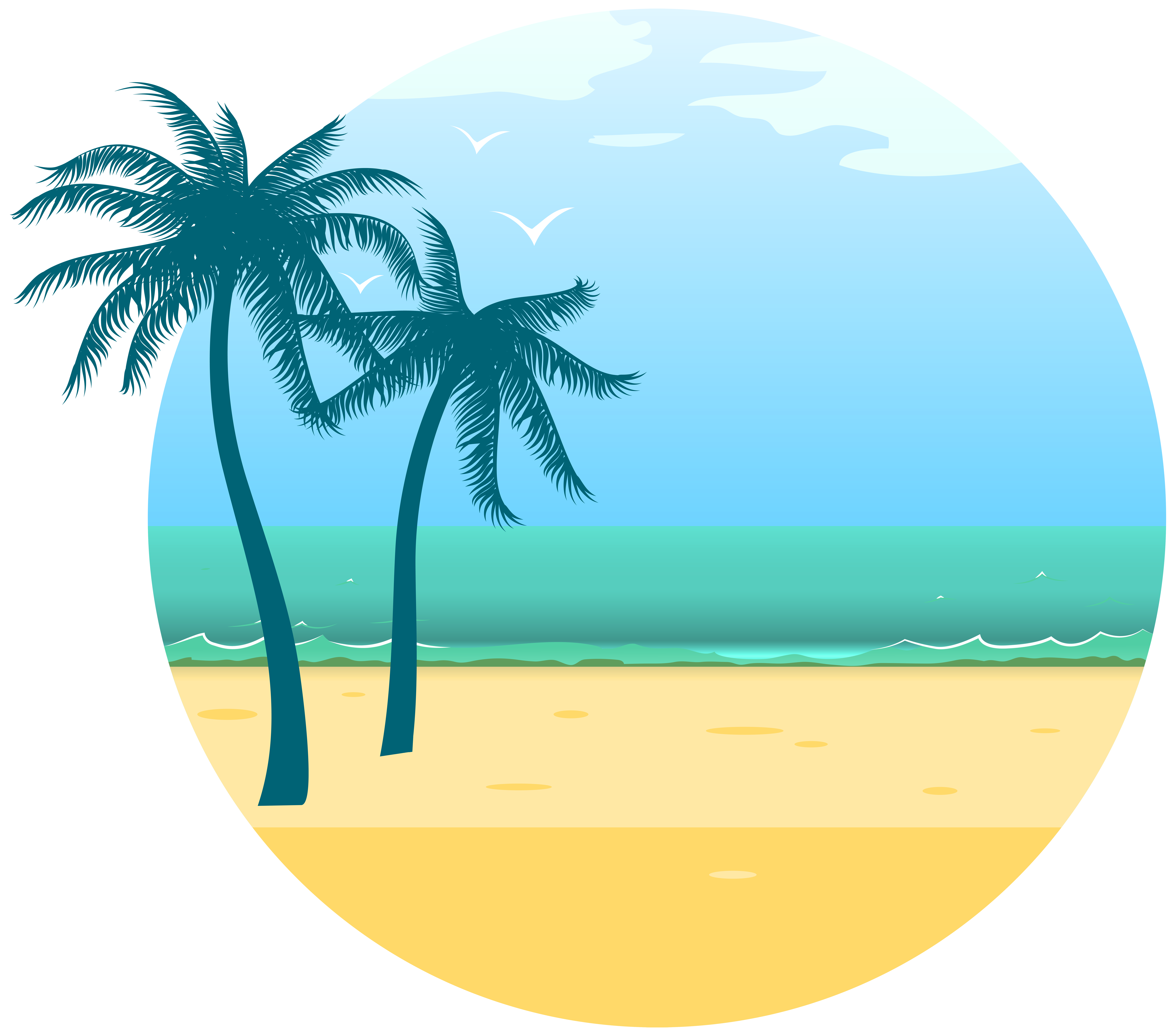 Sea png image gallery. Clipart summer decoration