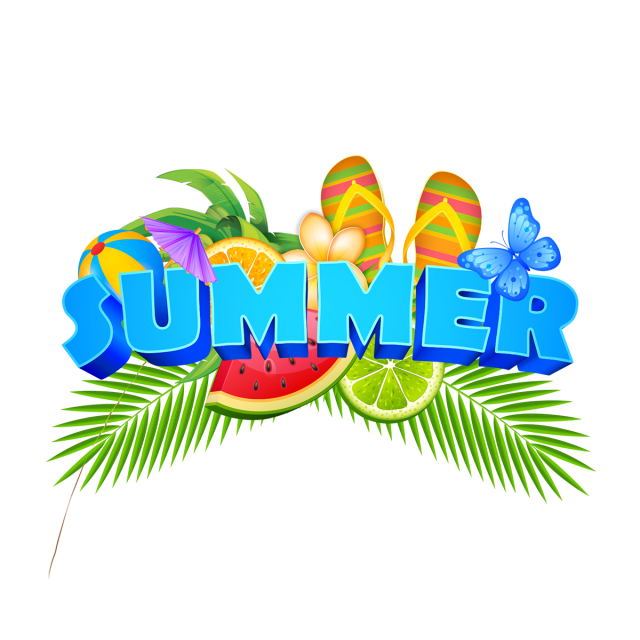 Summer elements illustration with. Evidence clipart badge