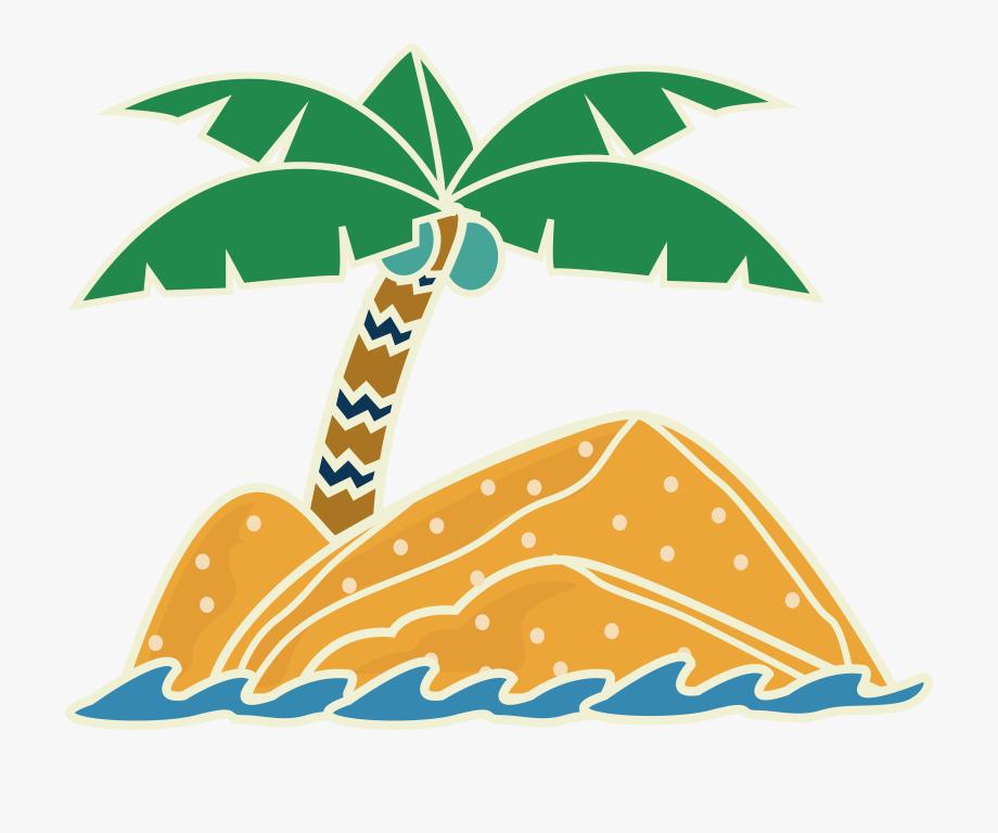 Clipart summer element. Travel clip art beach