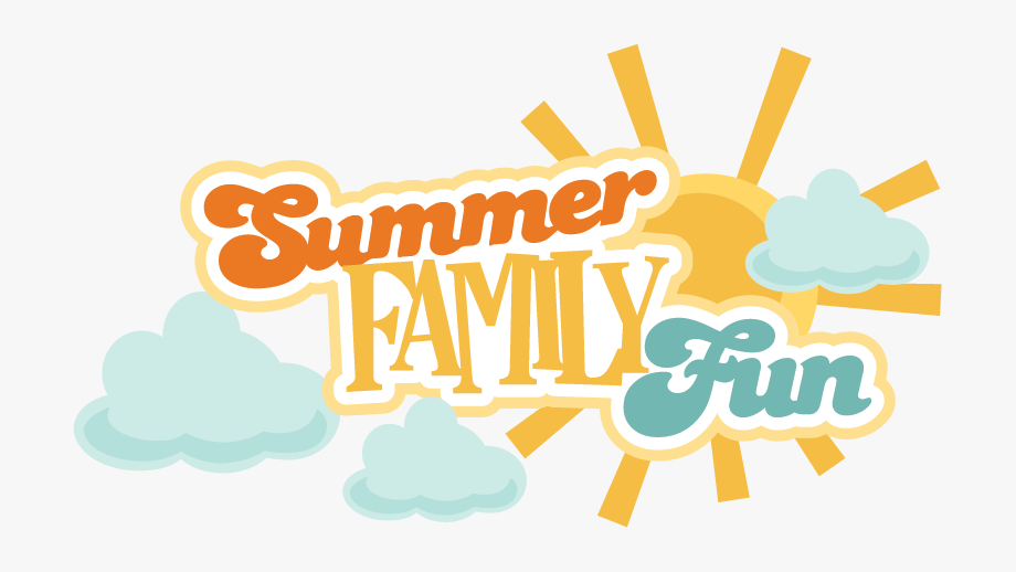 Fun png free . Clipart summer family