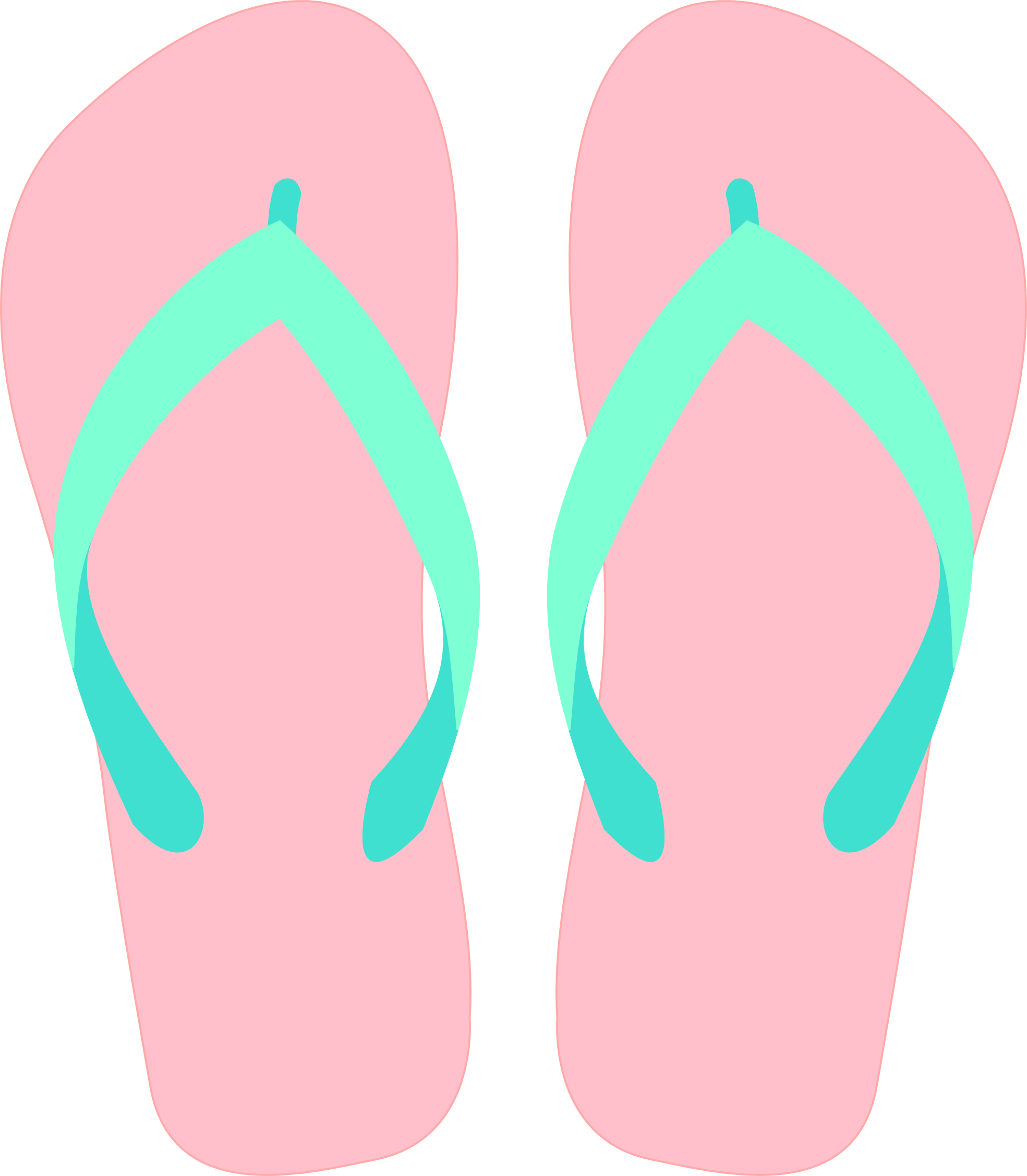 Freeclip art havaianas flops. Purple clipart flip flop