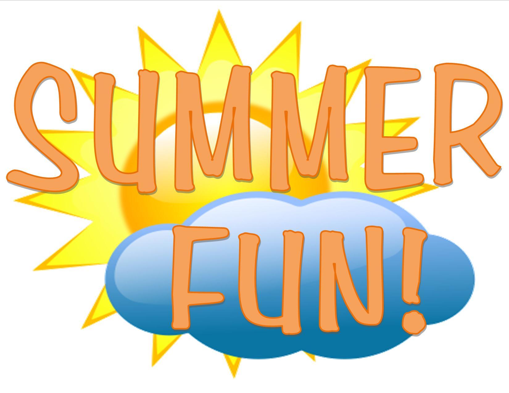 Free fun download clip. Fundraiser clipart summer
