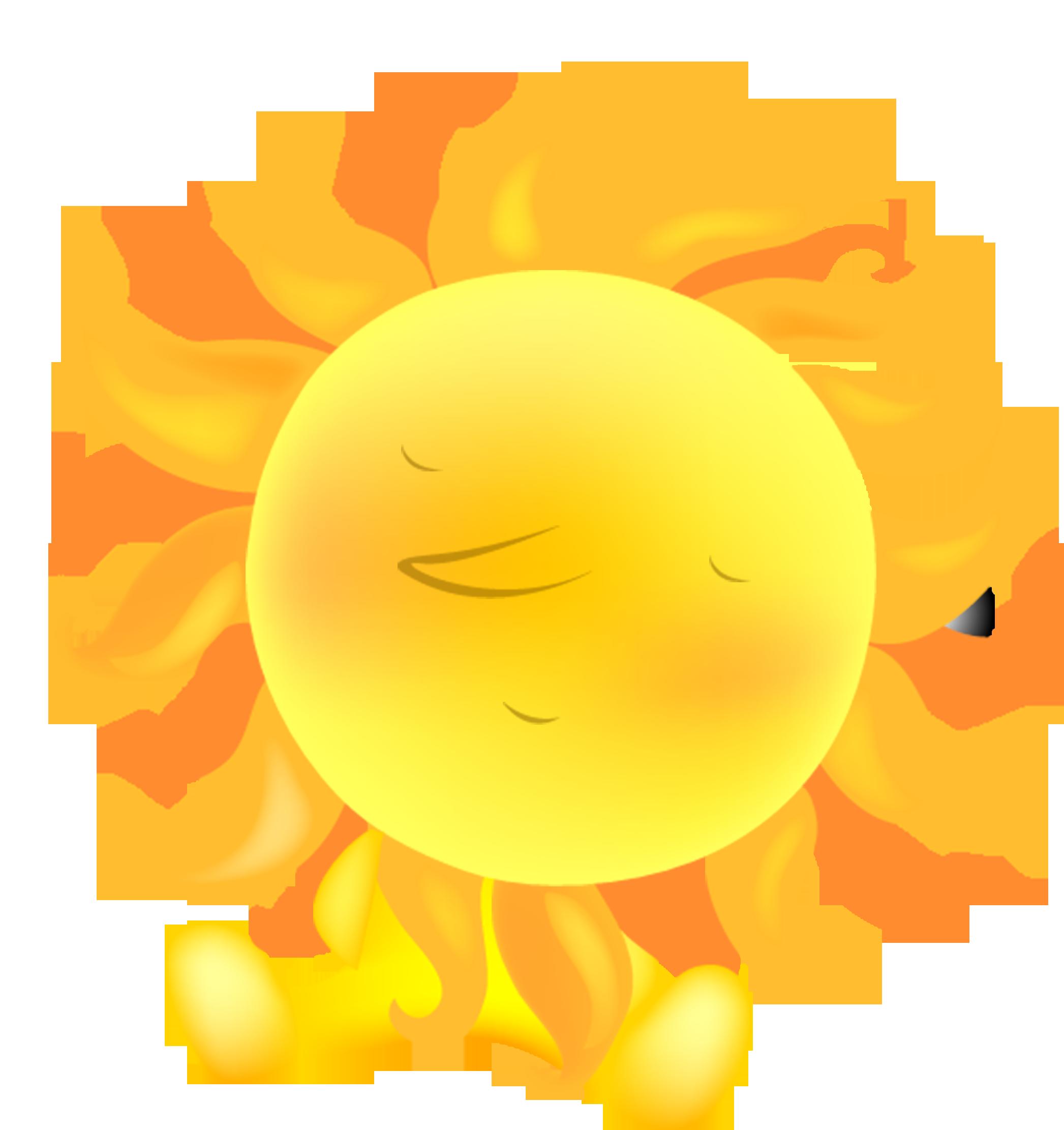 Heat clipart summer. Cartoon cute hot sun