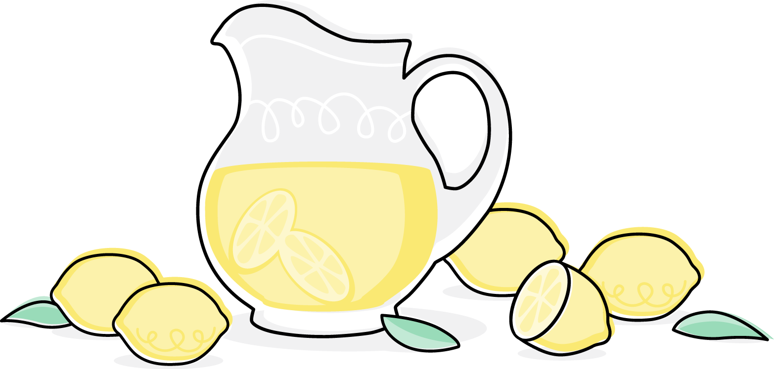 Lemons clipart lemonade. Images of pitcher spacehero