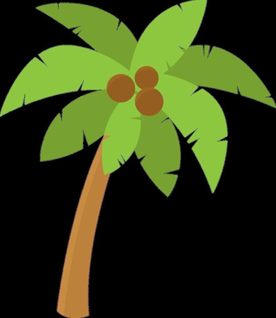 Resultado de imagen palmera. Coconut clipart hawaiian theme