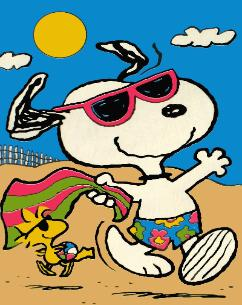 Peanuts clipart summer. Free snoopy cliparts download