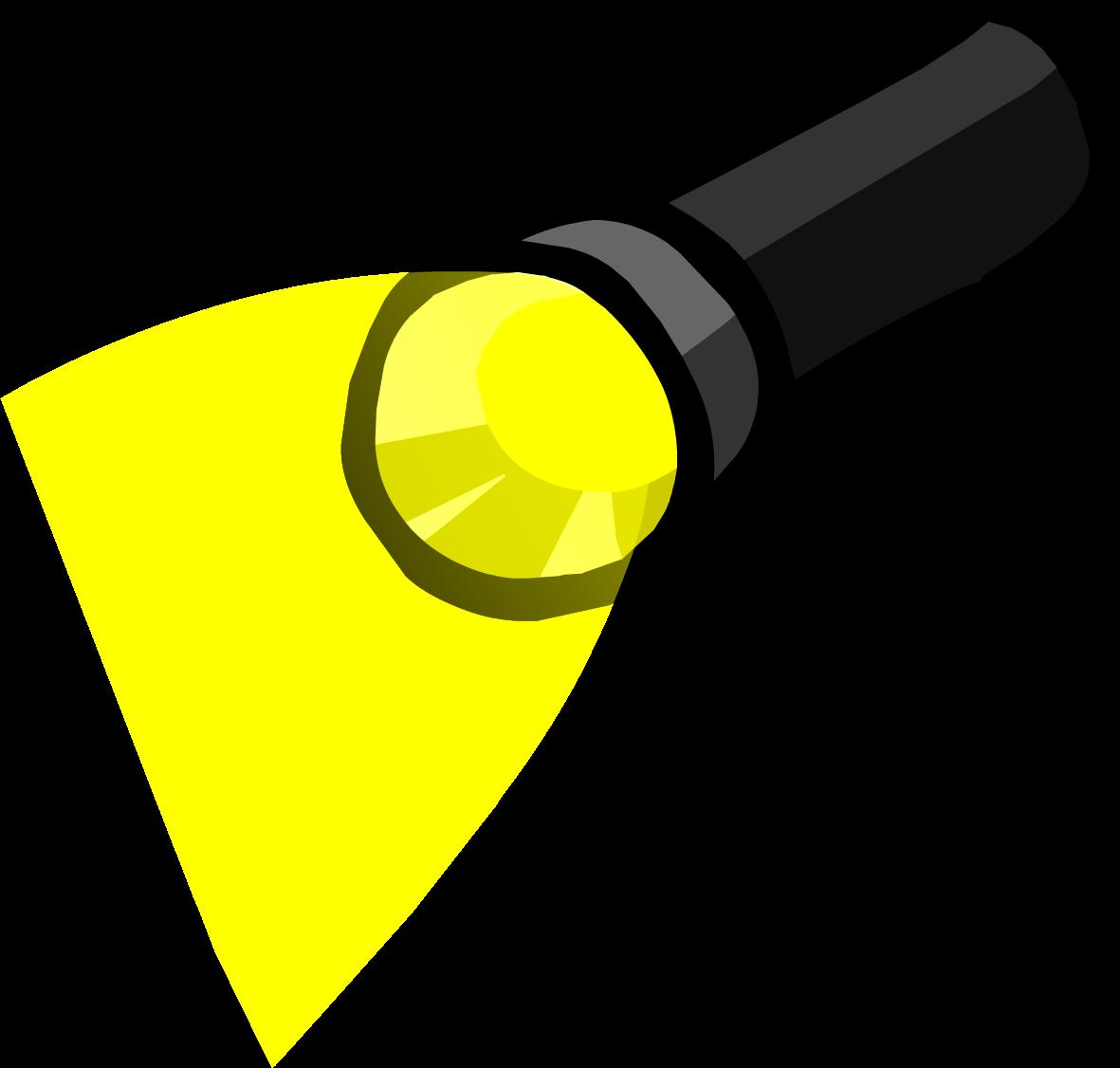 Club clipart torch. Flashlight penguin wiki fandom