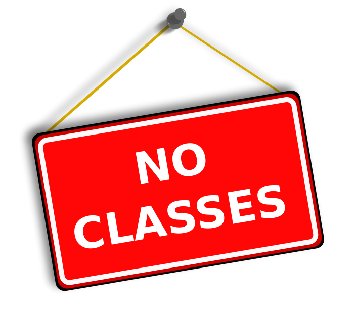 Fspa for april vacation. Schedule clipart sign