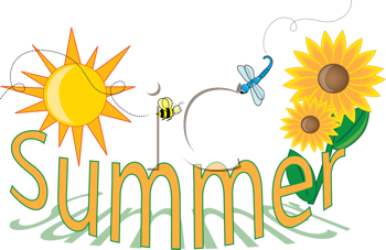 Royalty free image of. Clipart summer sign