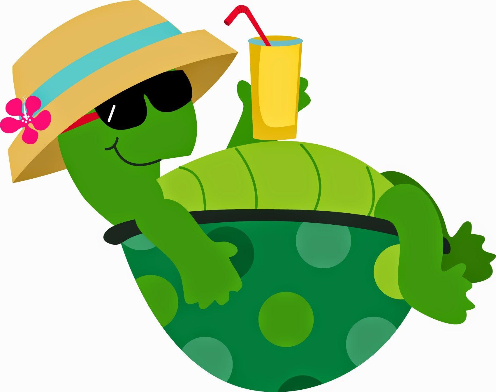 Clipart turtle summer. Album archive turtles cartoon