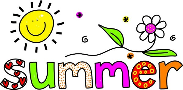 The clip art discovery. Clipart summer word