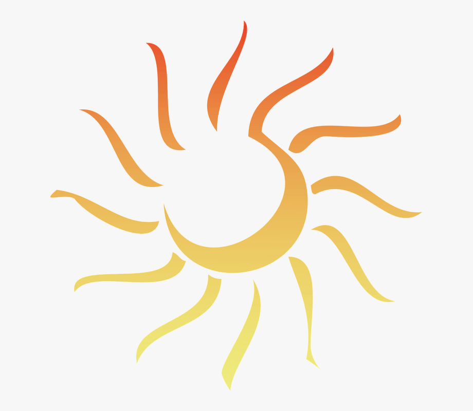 Florida abstract sun png. Clipart sunshine copyright free