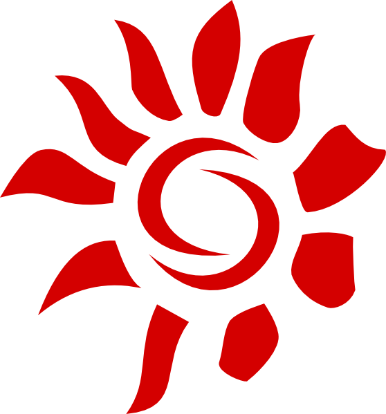 Clip art at clker. Clipart sun abstract