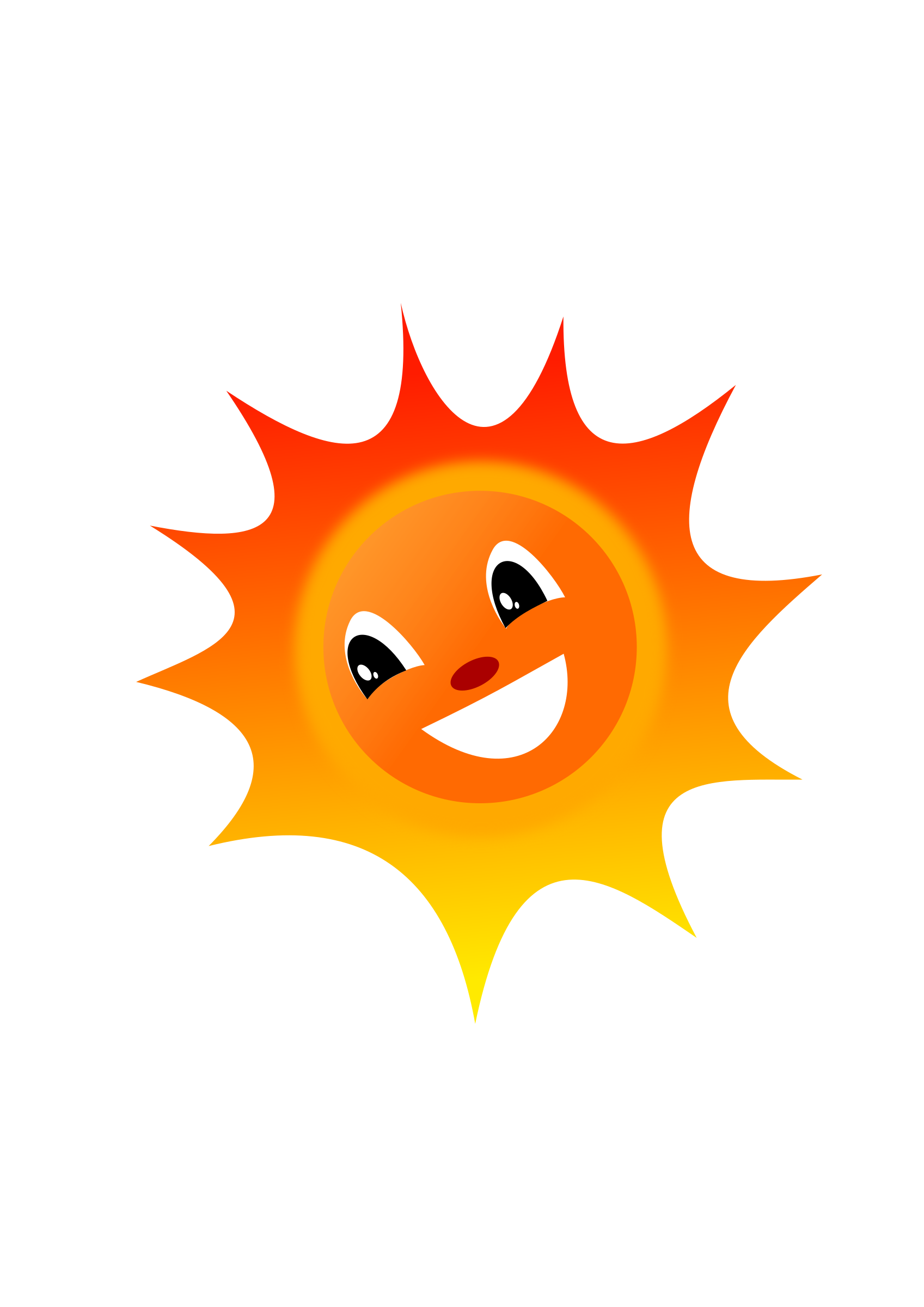 Clipart sun afternoon. Sol big image png