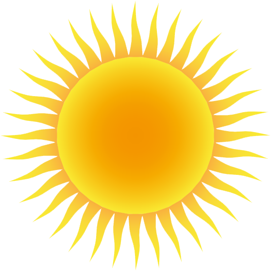 collection of high. Clipart sun afternoon