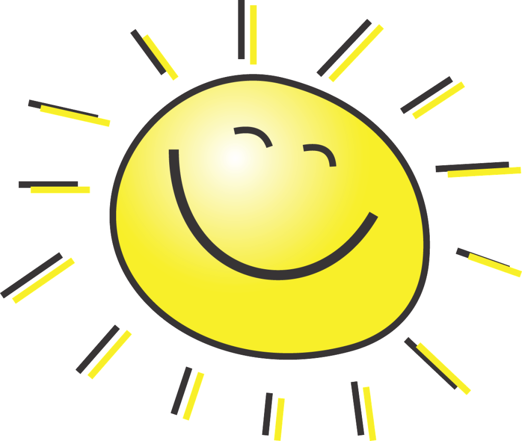 Life clipart happy life. Good afternoon sunshine