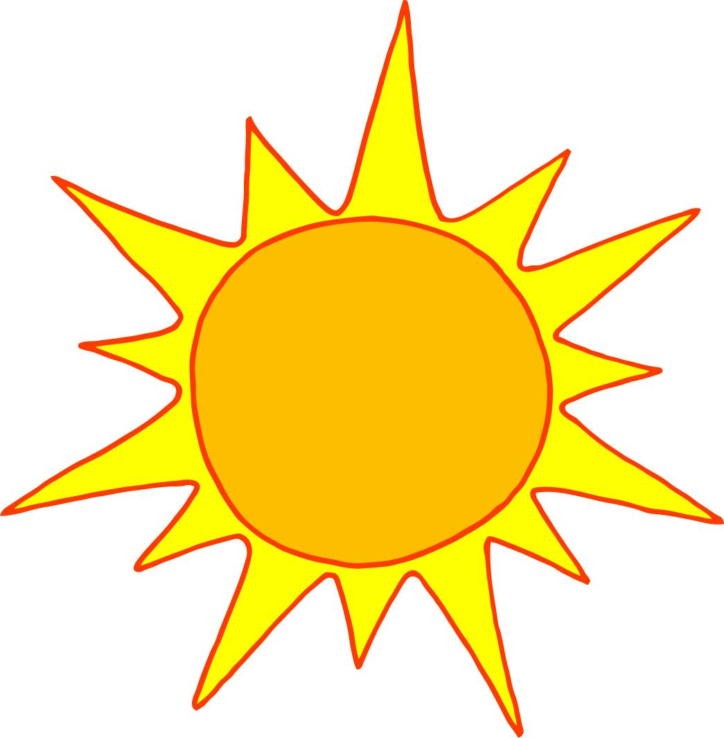 Free pics of a. Clipart sunshine animated
