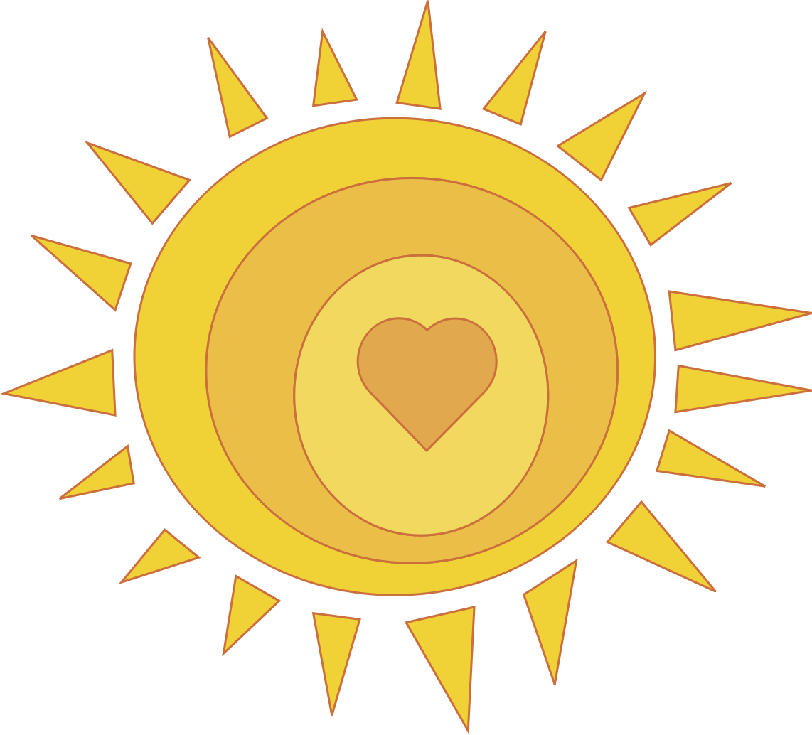 Sunny clipart love. Perfect design free clip