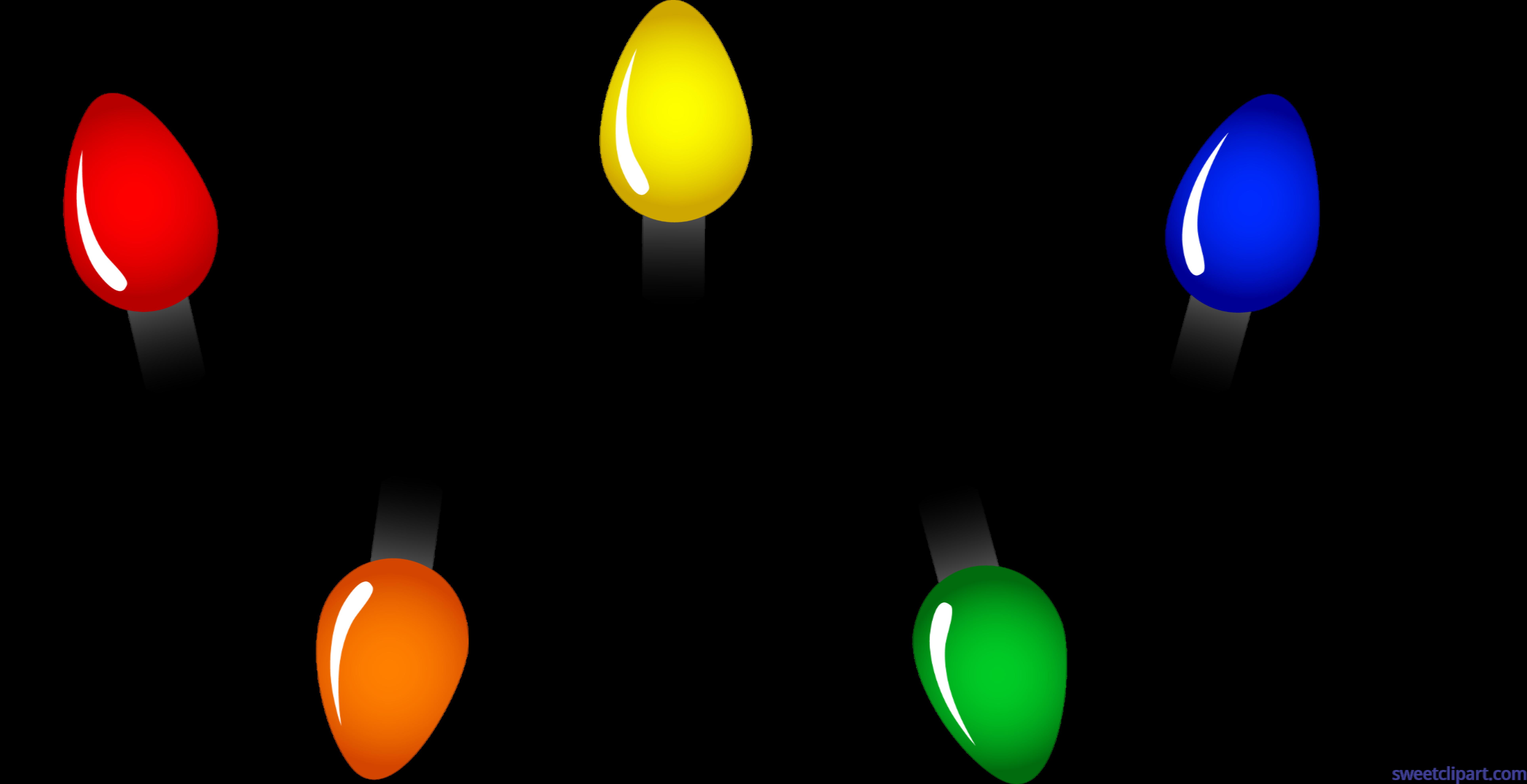 Lights clip art sweet. Clipart sun christmas