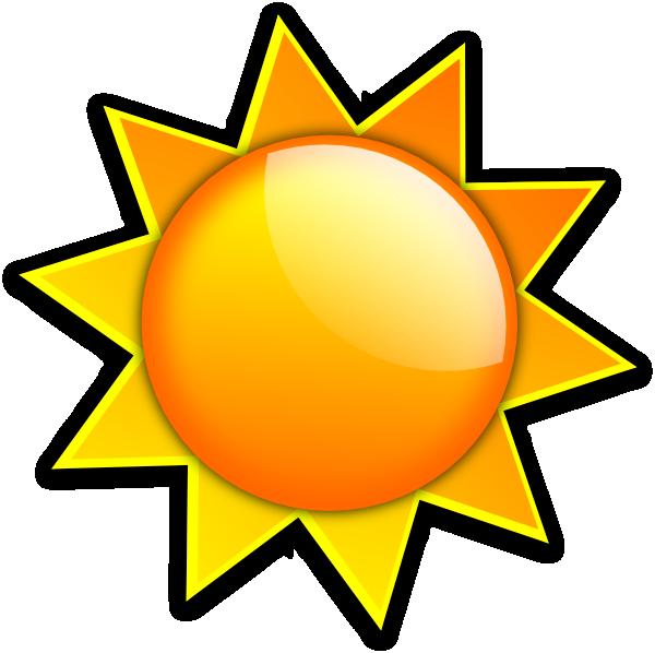 Clip art at clker. Dot clipart sun
