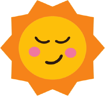 Free and moon download. Clipart sun colored