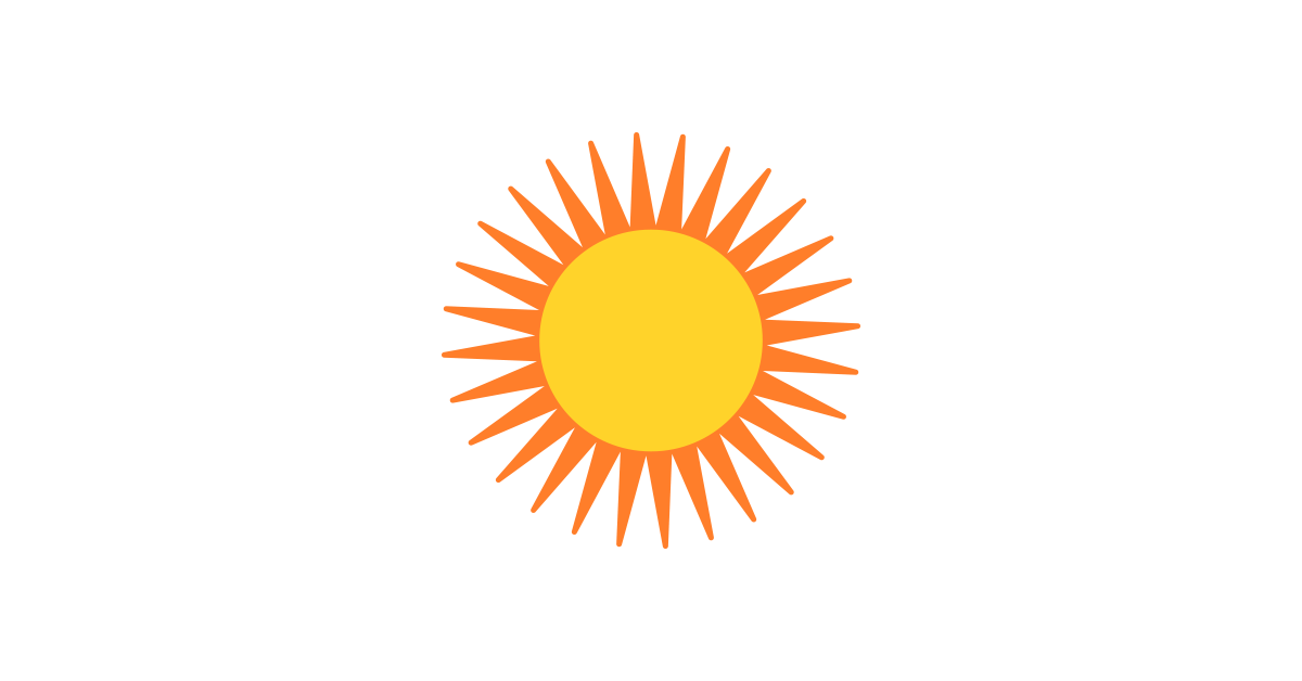 Sun vector png.  collection of clipart