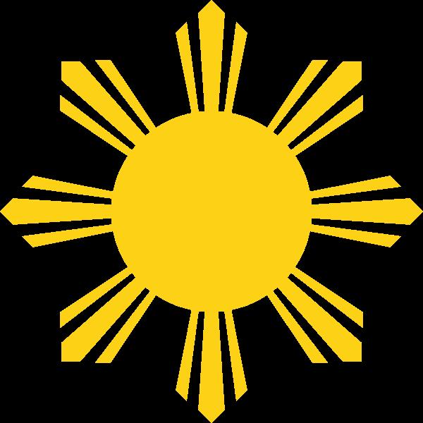 File symbol of the. Heaven clipart sun ray