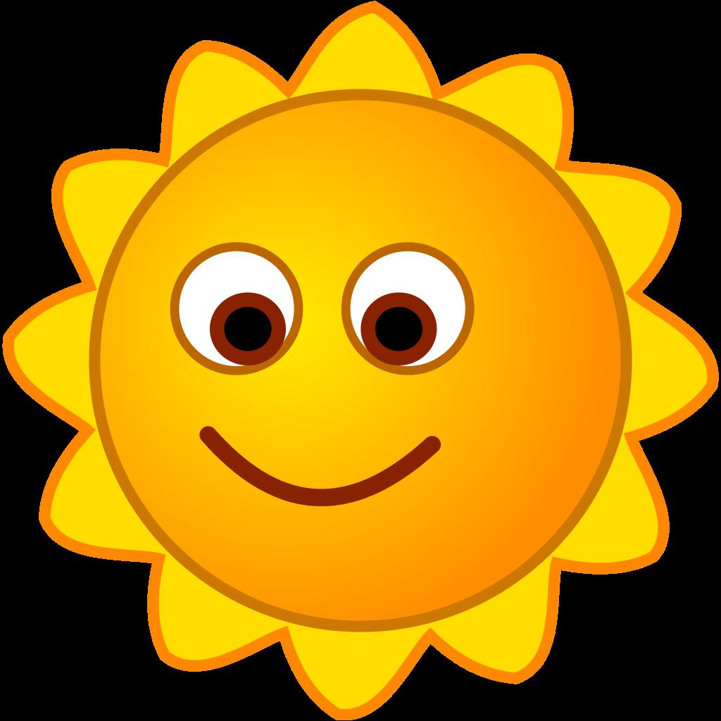 Sunny clipart sun smile. File smirc svg wikimedia