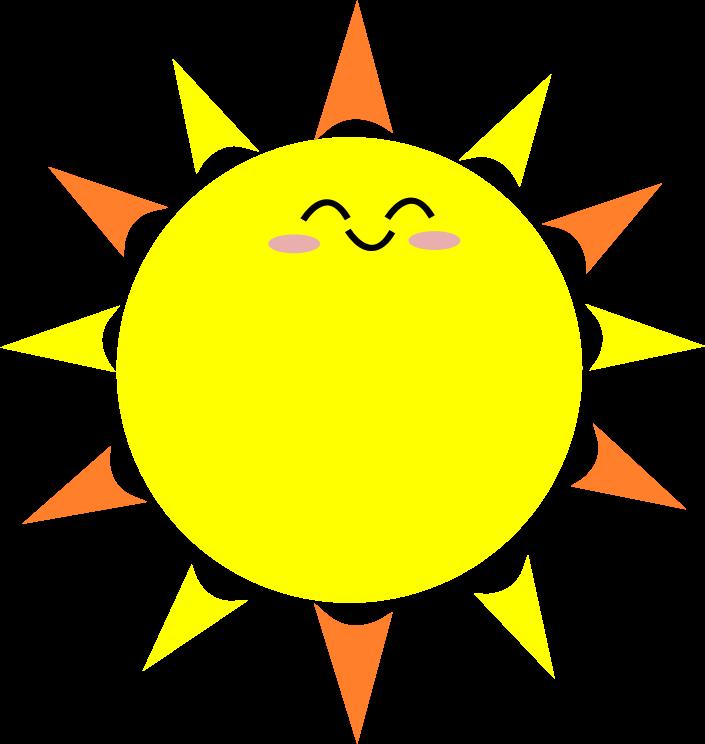 Mail clipart cutie. Cartoon sun pics group
