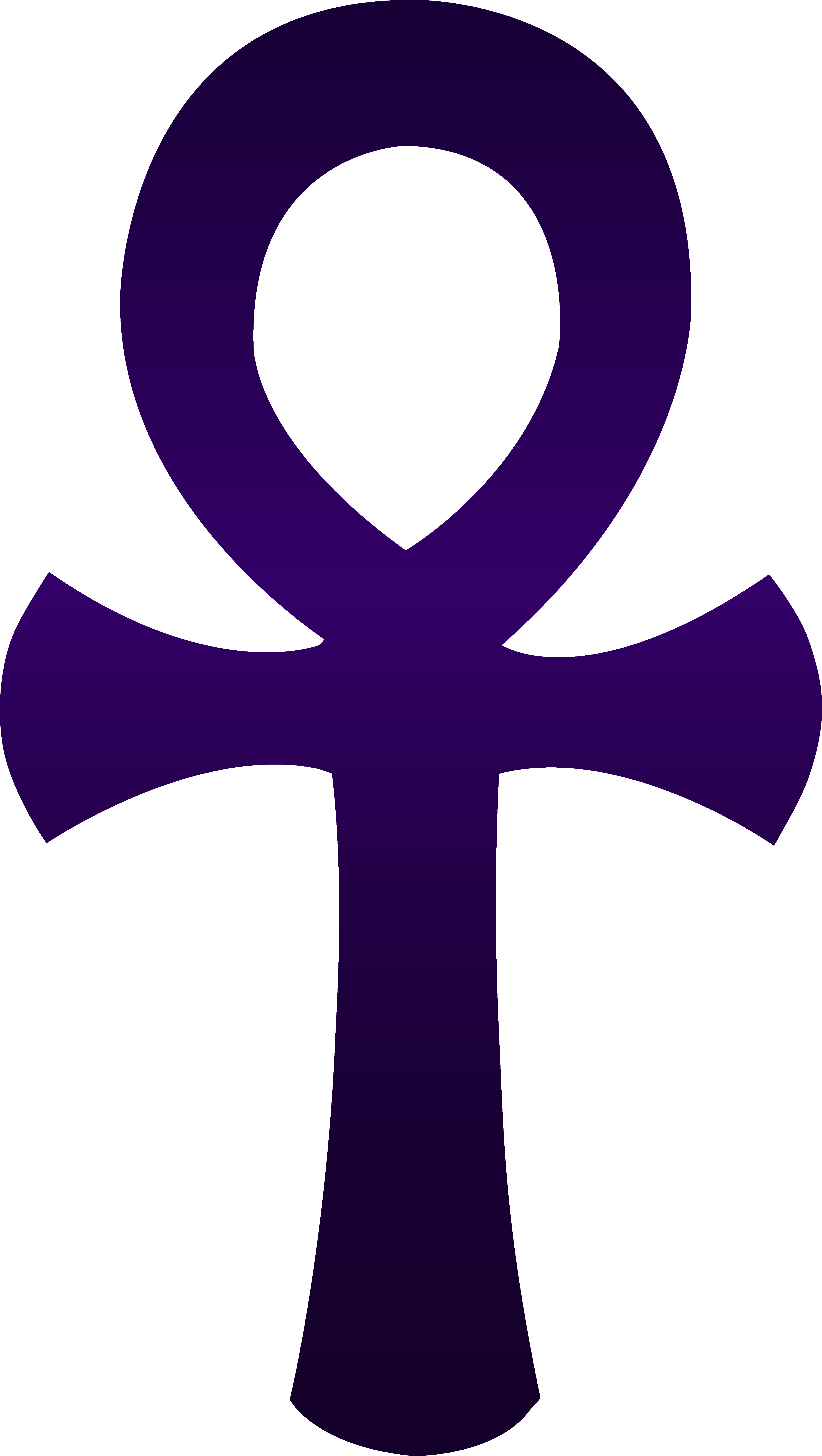 Ankh violet png pinterest. Crucifix clipart immortality