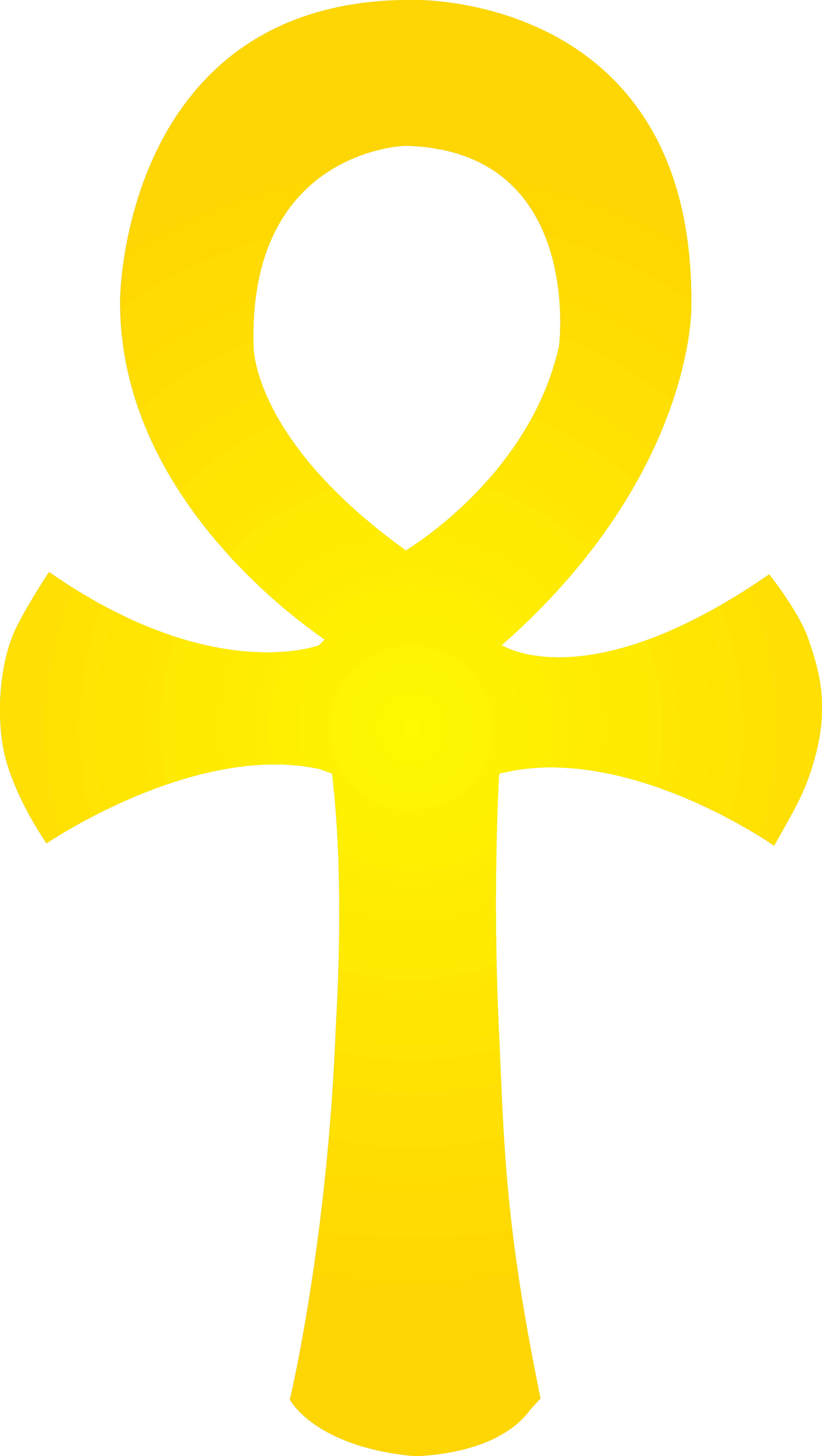 Golden ankh symbol free. Clipart sun egyptian