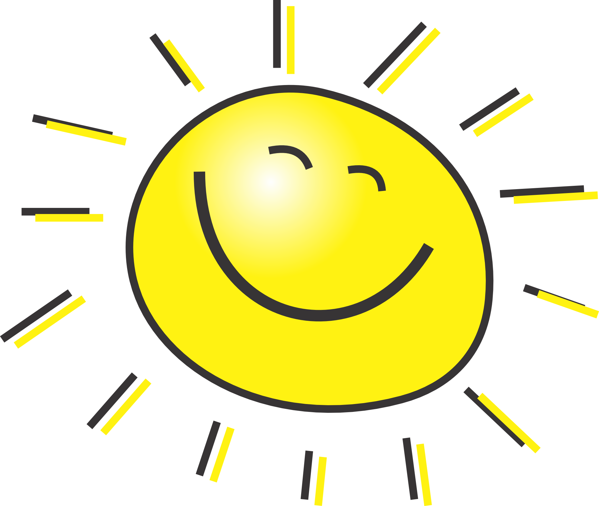 Sun drawing for kids. Clipart sunshine free printable