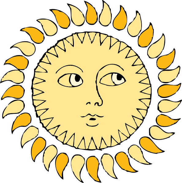 Sun clip art at. Win clipart office window