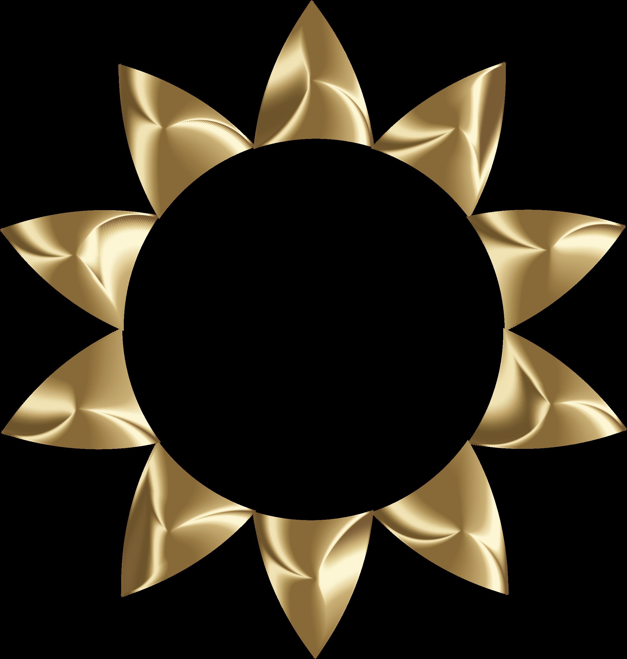 No clipart circle. Prismatic sun line art