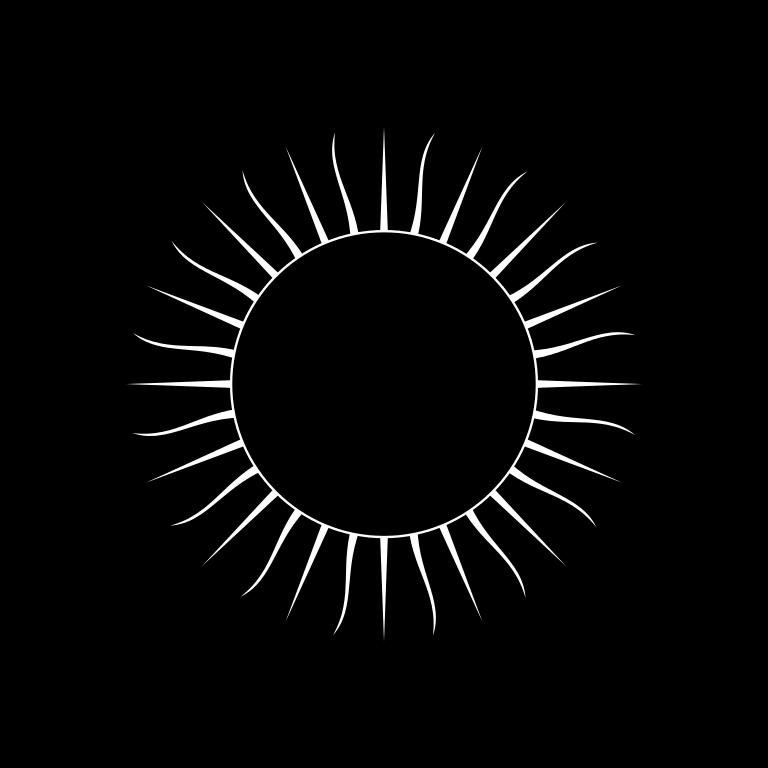 Clipart sun inca. File symbol black svg