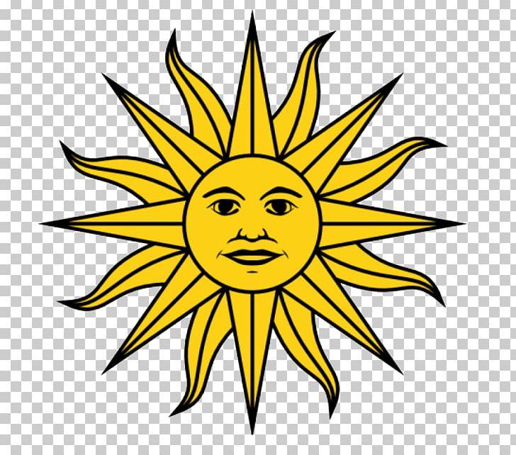 Flag of uruguay empire. Clipart sun inca