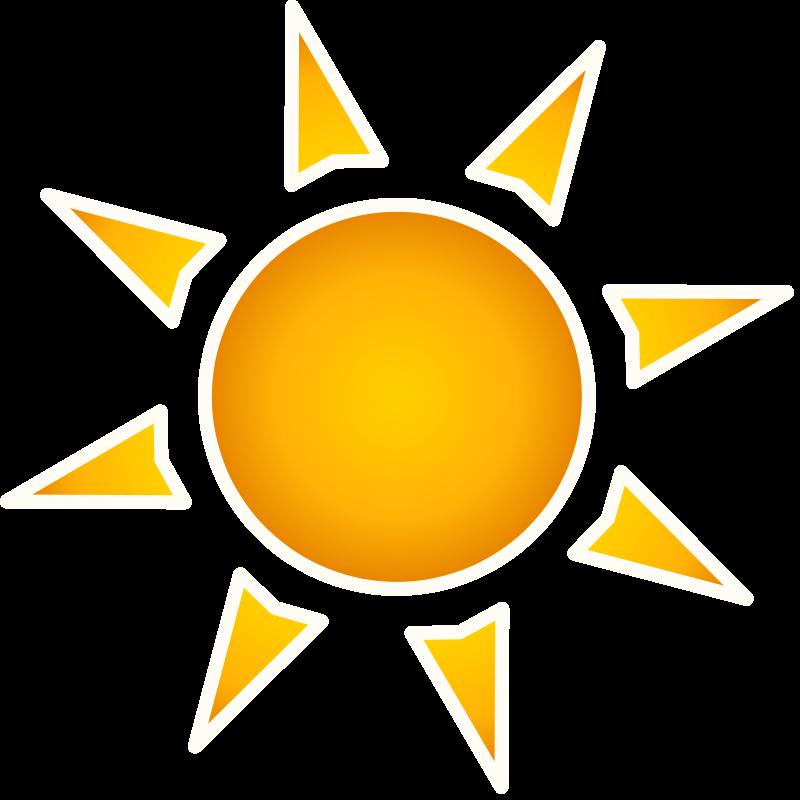 Transparent png file web. Clipart sun june