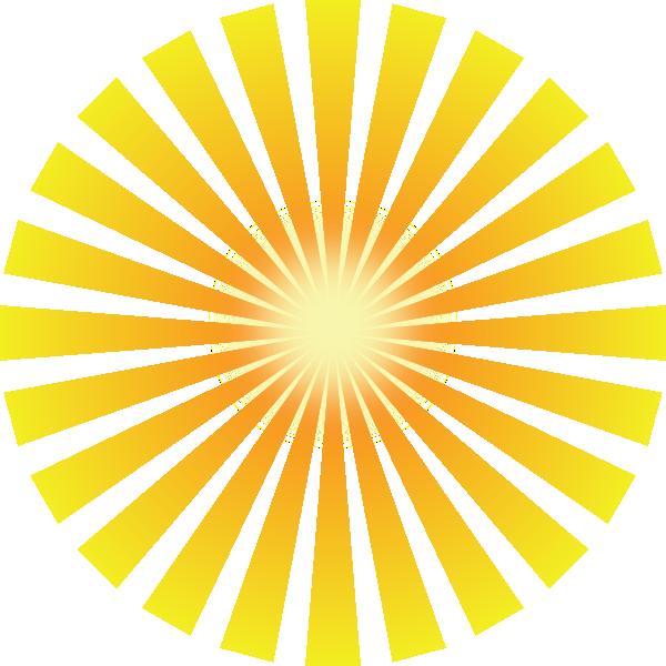 Clipart sun light. Rays clip art at