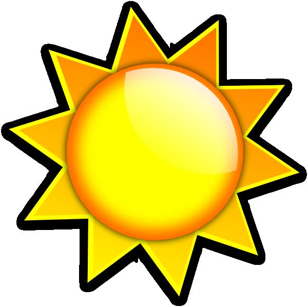 Sun Logo Clip Art at Clker