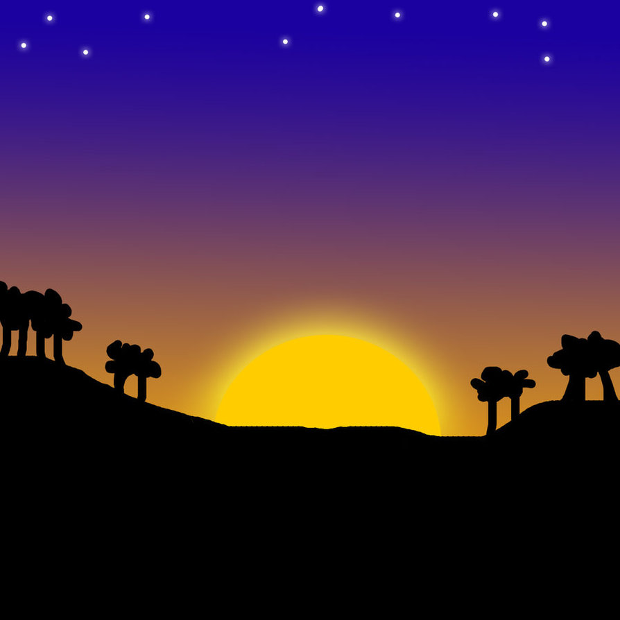 Sunset clipart sun set. Free sunsets cliparts download