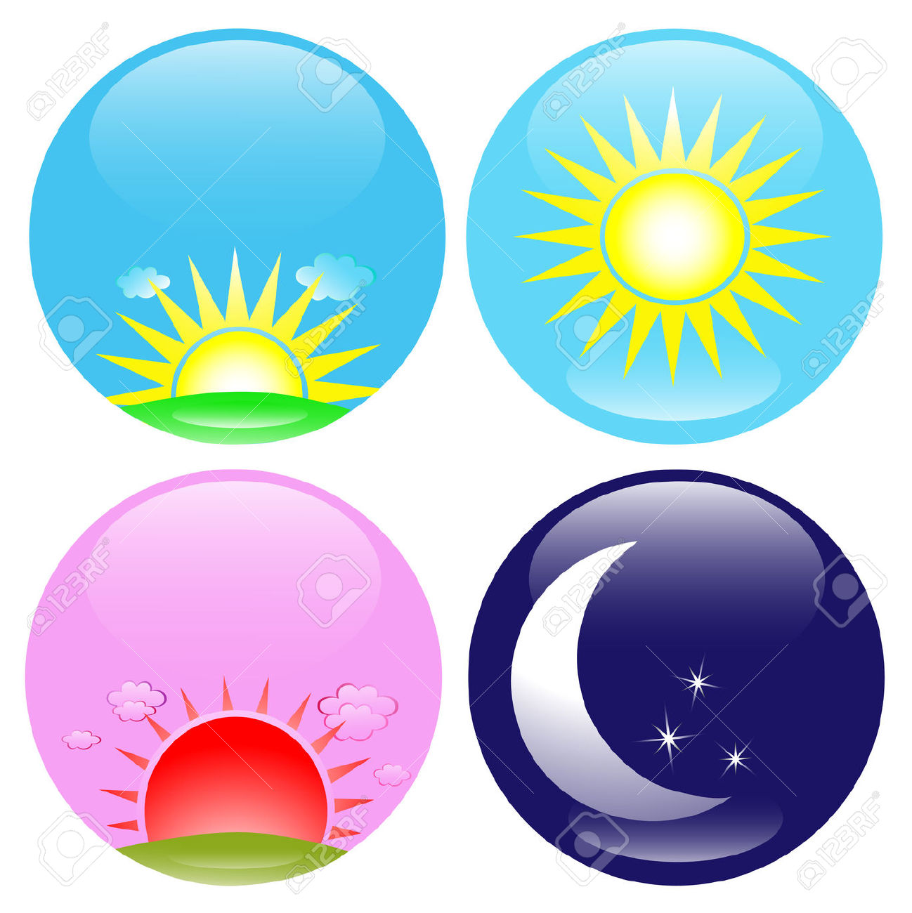 Clipart sun night. Noon free download best